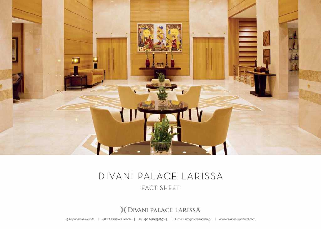 Divani Palace Larissa - Fact Sheet